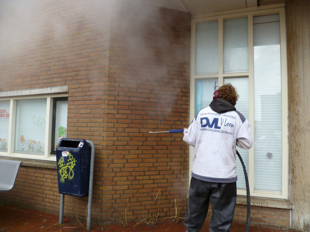 graffiti verwijdering Den Helder